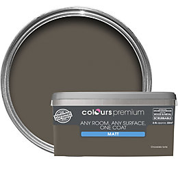 Colours Premium Chocolate Torte Matt Emulsion Paint 2.5L