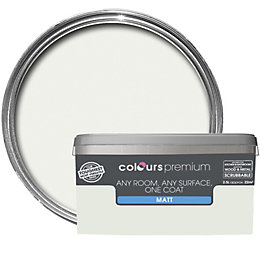Colours Premium Cucumber Mist Matt Emulsion Paint 2.5L