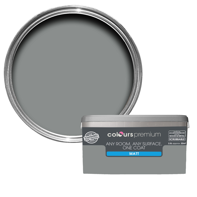 Fabulous Colours Premium Metropolitan Matt Emulsion Paint 2 5L Departments Diy At Bq Interior Design Ideas Apansoteloinfo