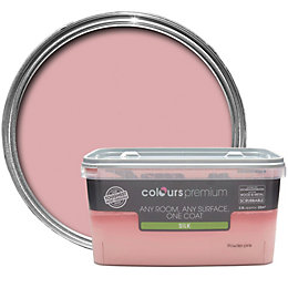 Colours Premium Powder Pink Silk Emulsion Paint 2.5L
