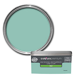Colours Premium Sea Green Silk Emulsion Paint 2.5L