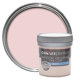 Colours Premium Fallen Petal Matt Emulsion Paint 0.05L