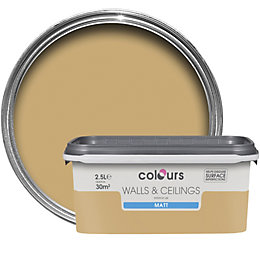 Colours Standard Harvest field Matt Emulsion paint 2.5