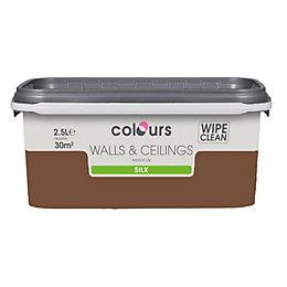 Colours Standard Forest floor Silk Emulsion paint 2.5L
