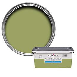 Colours Standard Village green Matt Emulsion paint 2.5L