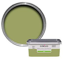 Colours Standard Village Green Silk Emulsion Paint 2.5L