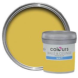 Colours Standard Golden Rays Matt Emulsion Paint 0.05L