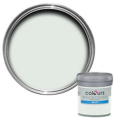 Colours Tester Mint secret Matt Emulsion paint 0.05L
