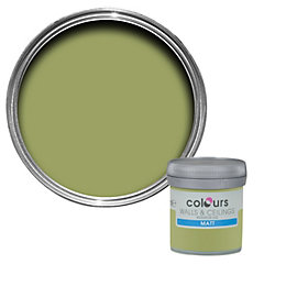 Colours Standard Village green Matt Emulsion paint 0.05L