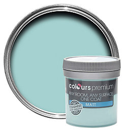 Colours Premium Water Matt Emulsion Paint 0.05L Tester