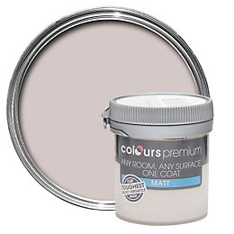 Colours Premium Pebble shore Matt Emulsion paint 0.05L