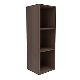 Form Konnect Natural Walnut Effect 3 Cube Shelving