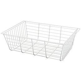 Form Twinslot White Storage Basket (W)580mm