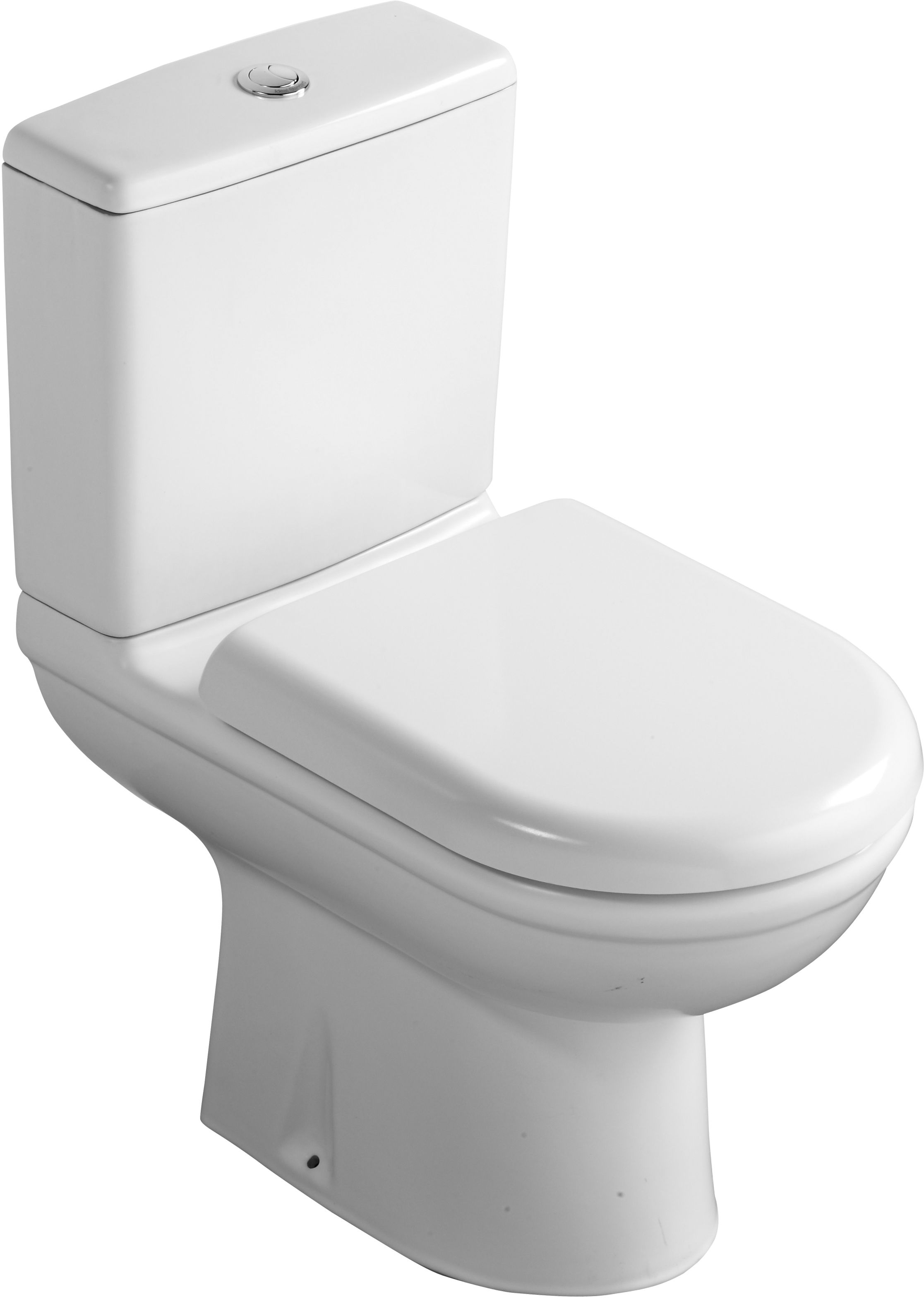 Ideal Standard Della Close Coupled Toilet With Soft Close Seat Departments Diy At B Q