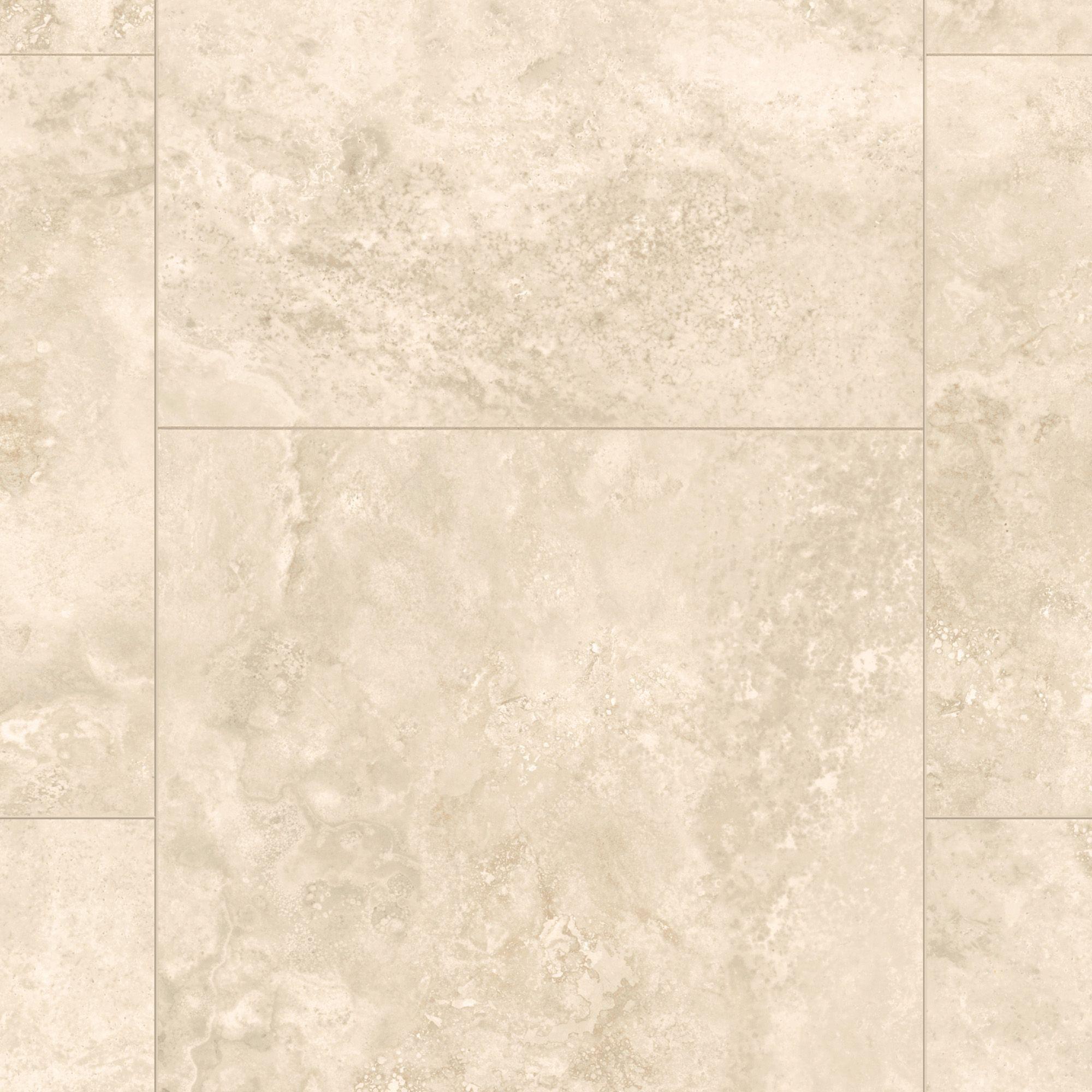 Quickstep Tila Natural Travertine Tile Effect Laminate Flooring Sample Departments Diy At B Q