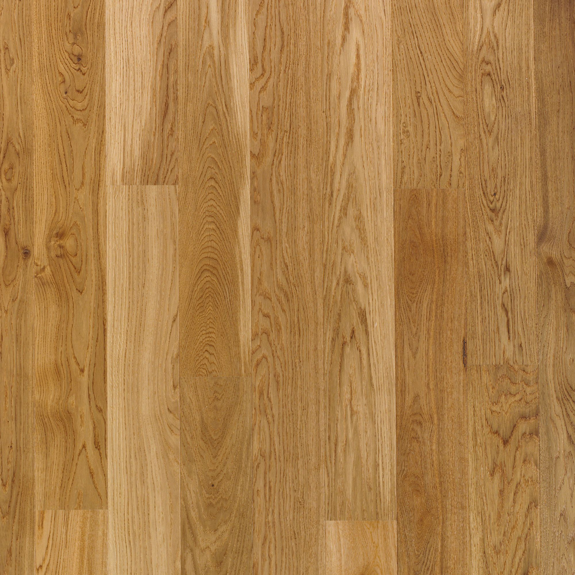 Quick Step Cadenza Natural Oak Effect Wood Top Layer Flooring Sample Sample  Departments DIY At B Q