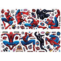 Marvel Spiderman Multicolour Self Adhesive Wall Sticker (L)700mm