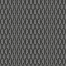 Fusion Grey Geometric Matt Finish Wallpaper