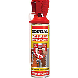 Soudal Beige Gap Filling Expanding Foam 500 ml