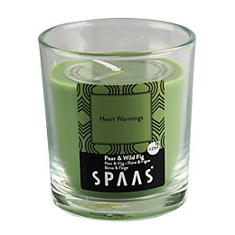 Spaas Pear & Fig Glass Candle Small