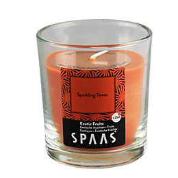Spaas Exotic Fruits Glass Candle Small