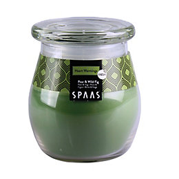 Spaas Pear & fig Jar candle Large