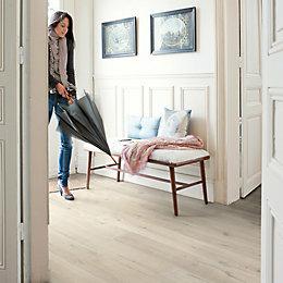 Quickstep Aquanto Light grey Laminate flooring 1.835 m²