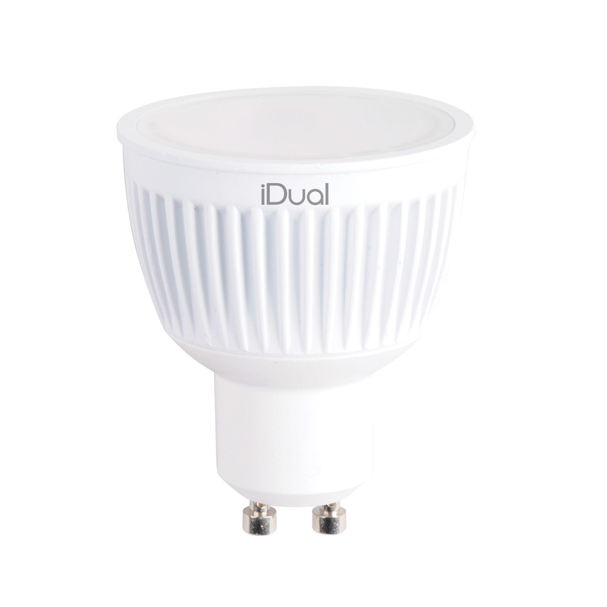 IDual GU10 345lm LED Dimmable Reflector Spot Light Bulb