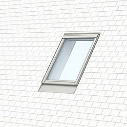 VELUX Grey Single window recessed slate flashing (H)980mm