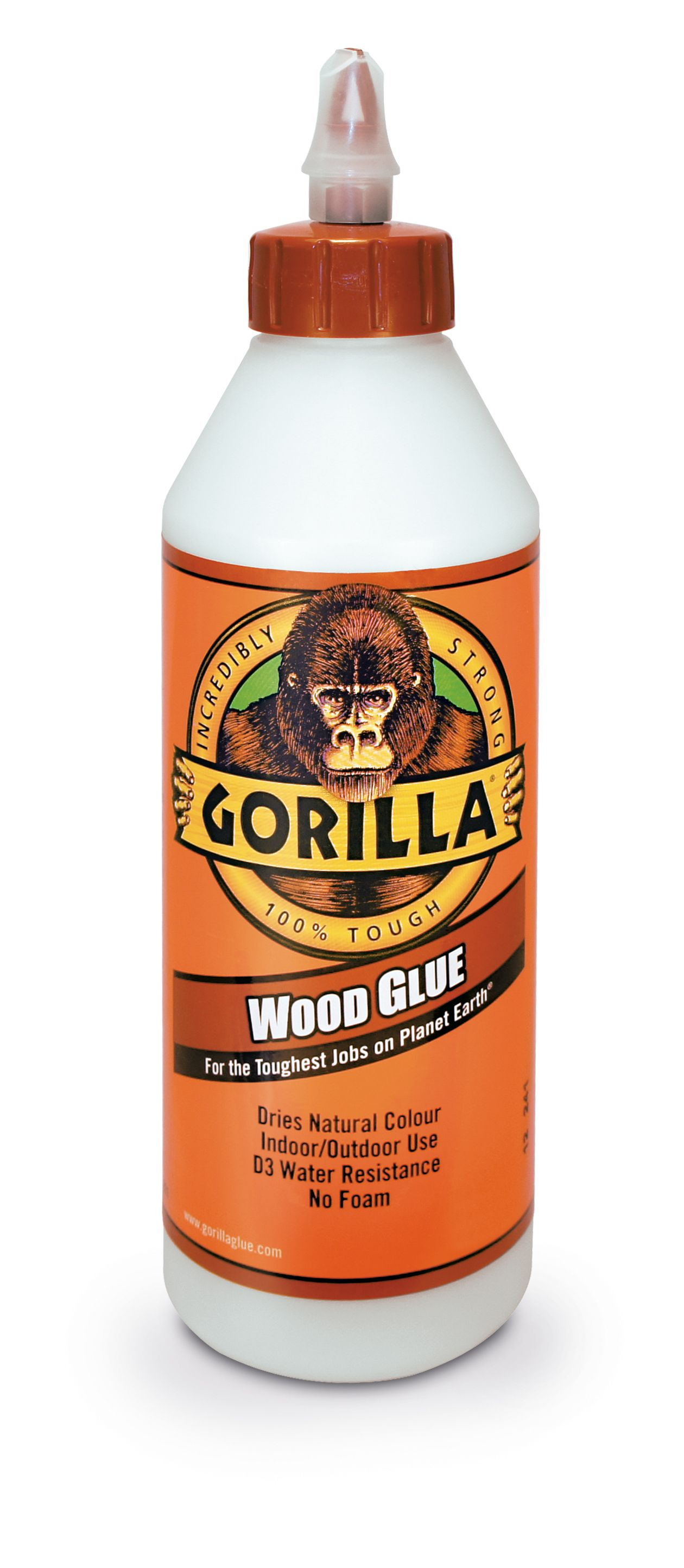 Gorilla Clear Wood Glue | Departments | DIY at B&Q