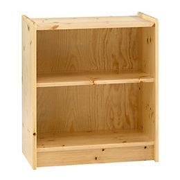Wizard 1 Shelf Bookcase (H)720mm (W)640mm (D)380mm