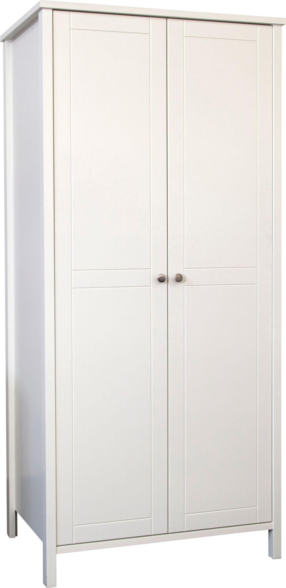 Bergen white wardrobe h 1950mm w 900mm departments for Bergen garage door