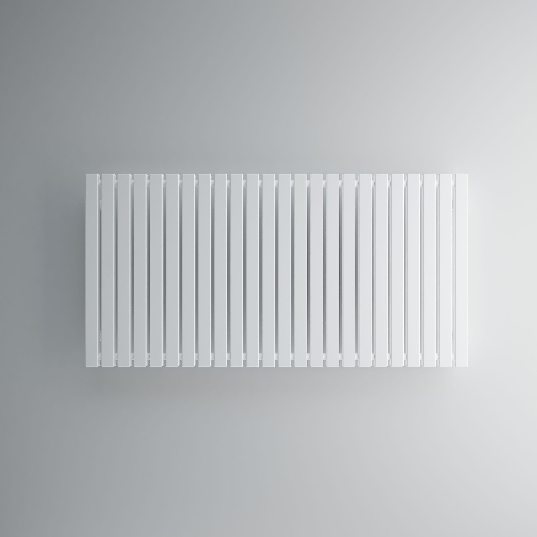 Terma Winchester Horizontal Radiator Soft white Matt (H)600