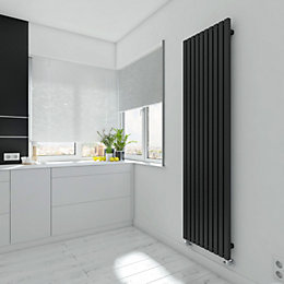Terma Winchester Vertical Radiator Metallic Black Textured