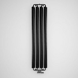 Terma Ribbon Vertical Radiator Metallic Black Metallic