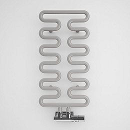 Terma Aire Winter Sky Round Towel Radiator (H)621mm