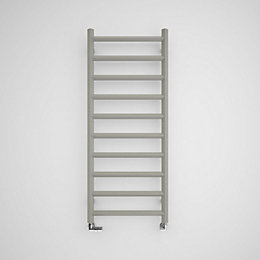 Terma Crystal Sparkling gravel Square towel radiator (H)1200mm