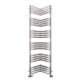 Terma Incorner Chrome Effect Towel Warmer (H)1545mm (W)350mm