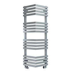 Terma Outcorner Chrome Effect Towel Warmer (H)1005mm (W)300mm