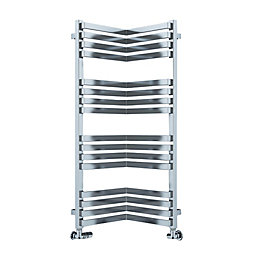 Terma Incorner Chrome Effect Towel Warmer (H)105mm (W)350mm