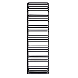 Terma Alex Modern Grey Towel Warmer (H)1580mm (W)500mm