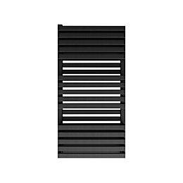 Terma Quadrus Electric Metallic Black Towel Warmer (H)870mm