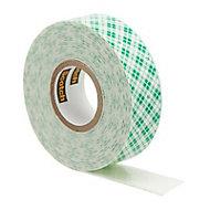 Scotch White Mounting tape (L)3m (W)19mm