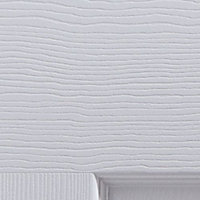 6 panel White Woodgrain effect Internal Door, (H)1981mm (W)686mm (T)35mm