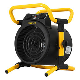 Stanley Electric 2000W Black & yellow Industrial stand