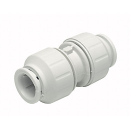 JG Speedfit Push fit Straight coupler (Dia)15mm