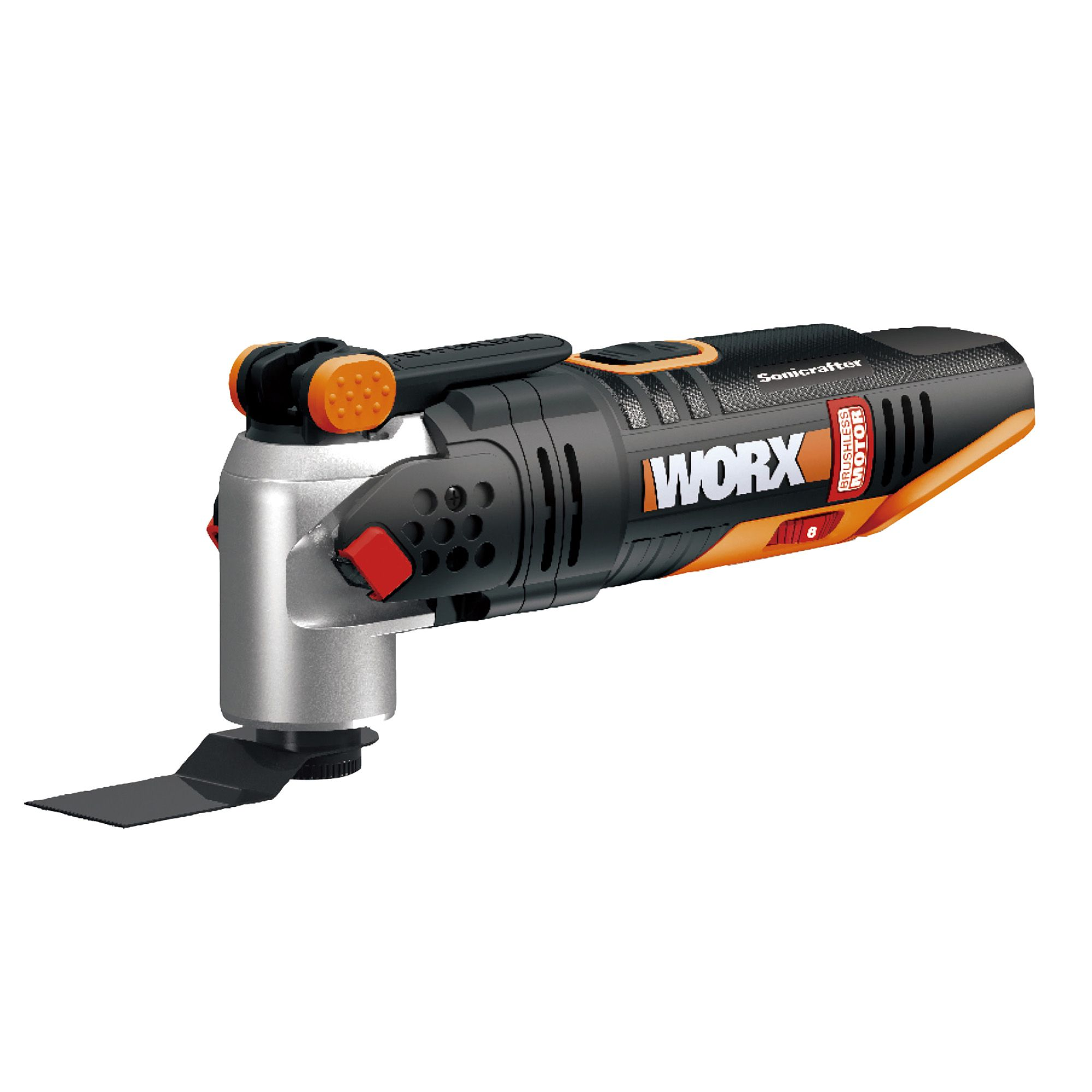 worx powershare 20v cordless sonicrafter multi tool wx693 9 bare departments tradepoint. Black Bedroom Furniture Sets. Home Design Ideas