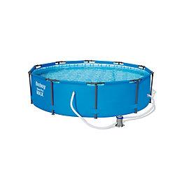 Bestway Plastic Pool L3.05 x W3.05 x H0.76M