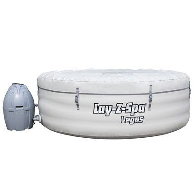 Lay Z Spa Vegas 4 6 Person Airjet Hot Tub Departments Diy At B Q