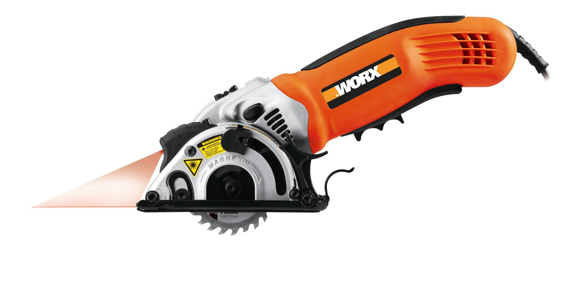 Worx 310w 76mm Circular Saw Wx424 Departments Diy At B Amp Q